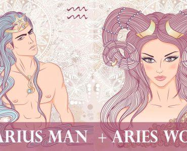 aquarius man aries woman
