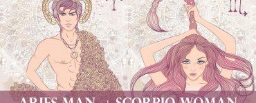 aries man scorpio woman
