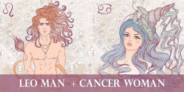 leo man cancer woman