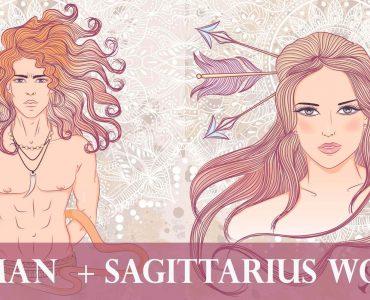 leo man sagittarius woman
