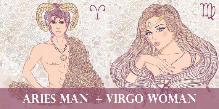 aries man virgo woman