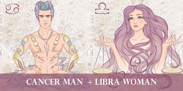 cancer man libra woman