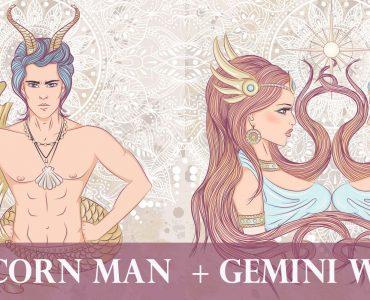 capricorn man gemini woman