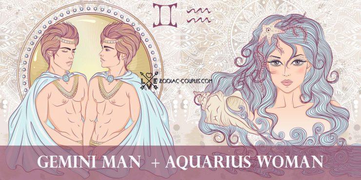 gemini man aquarius woman