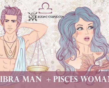 libra man pisces woman