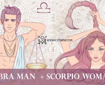 libra man scorpio woman