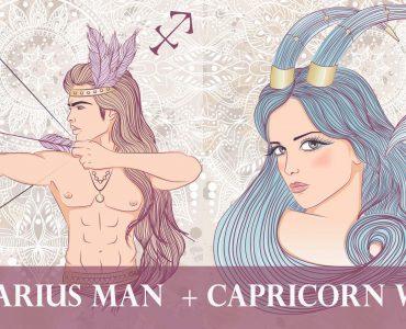 sagittarius man capricorn woman