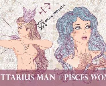 sagittarius man pisces woman