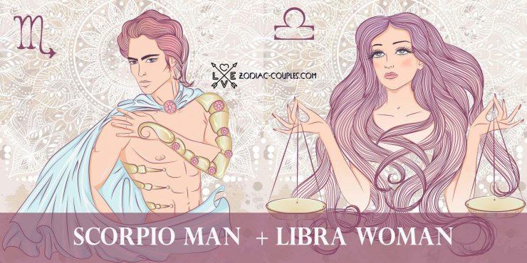 scorpio man libra woman