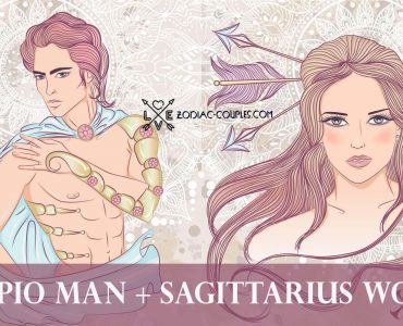 scorpio man sagittarius woman