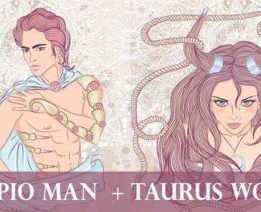 scorpio man taurus woman