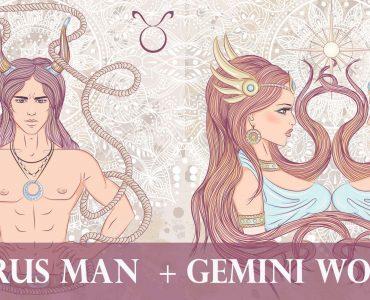 taurus man gemini woman