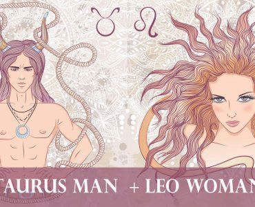 taurus man leo woman