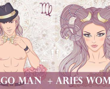virgo man aries woman
