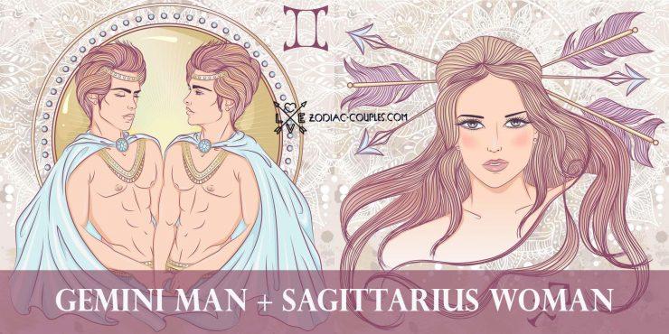 gemini man sagittarius woman