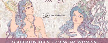 aquarius man cancer woman