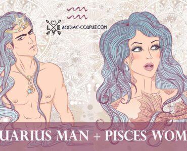 aquarius man pisces woman