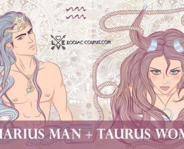 aquarius man taurus woman