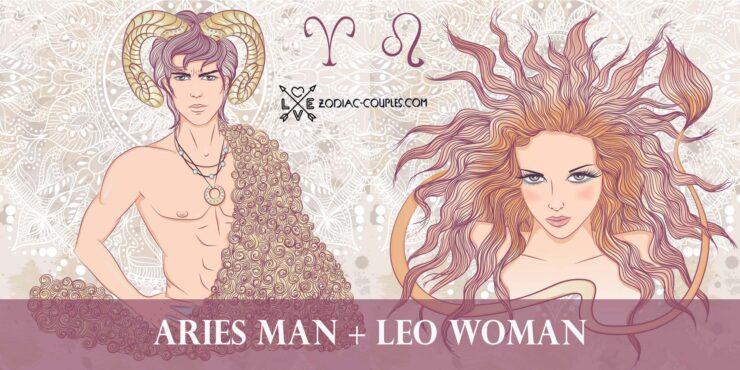 aries man leo woman