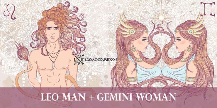 leo man gemini woman