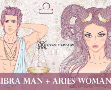 libra man aries woman