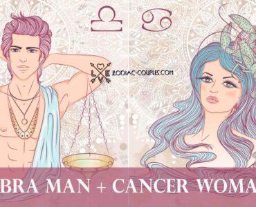 libra man cancer woman