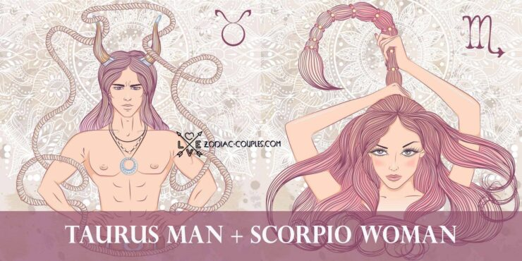 taurus man scorpio woman