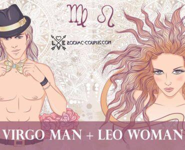 virgo man leo woman