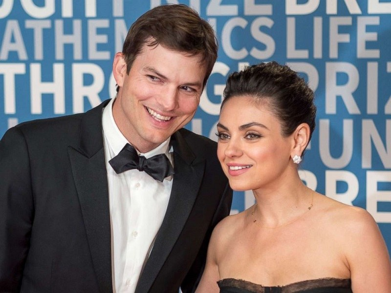 aquarius and leo celebrity couples ashton and mila