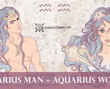aquarius man aquarius woman
