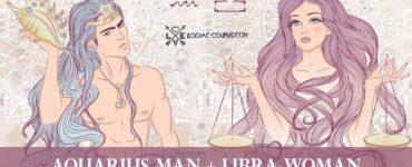 aquarius man libra woman