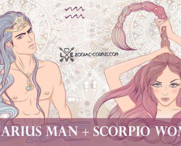 aquarius man scorpio woman