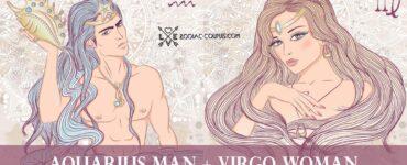 aquarius man virgo woman