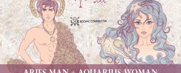 aries man aquarius woman