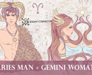 aries man gemini woman