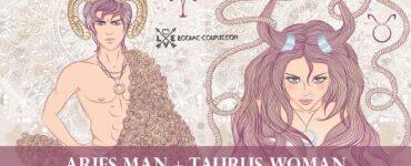 aries man taurus woman