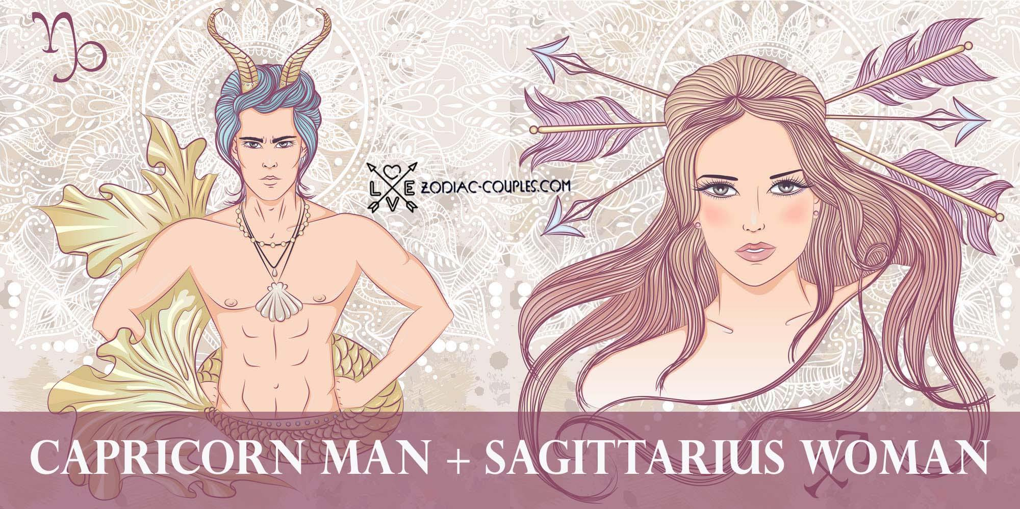 Woman break man up capricorn sagittarius Does He