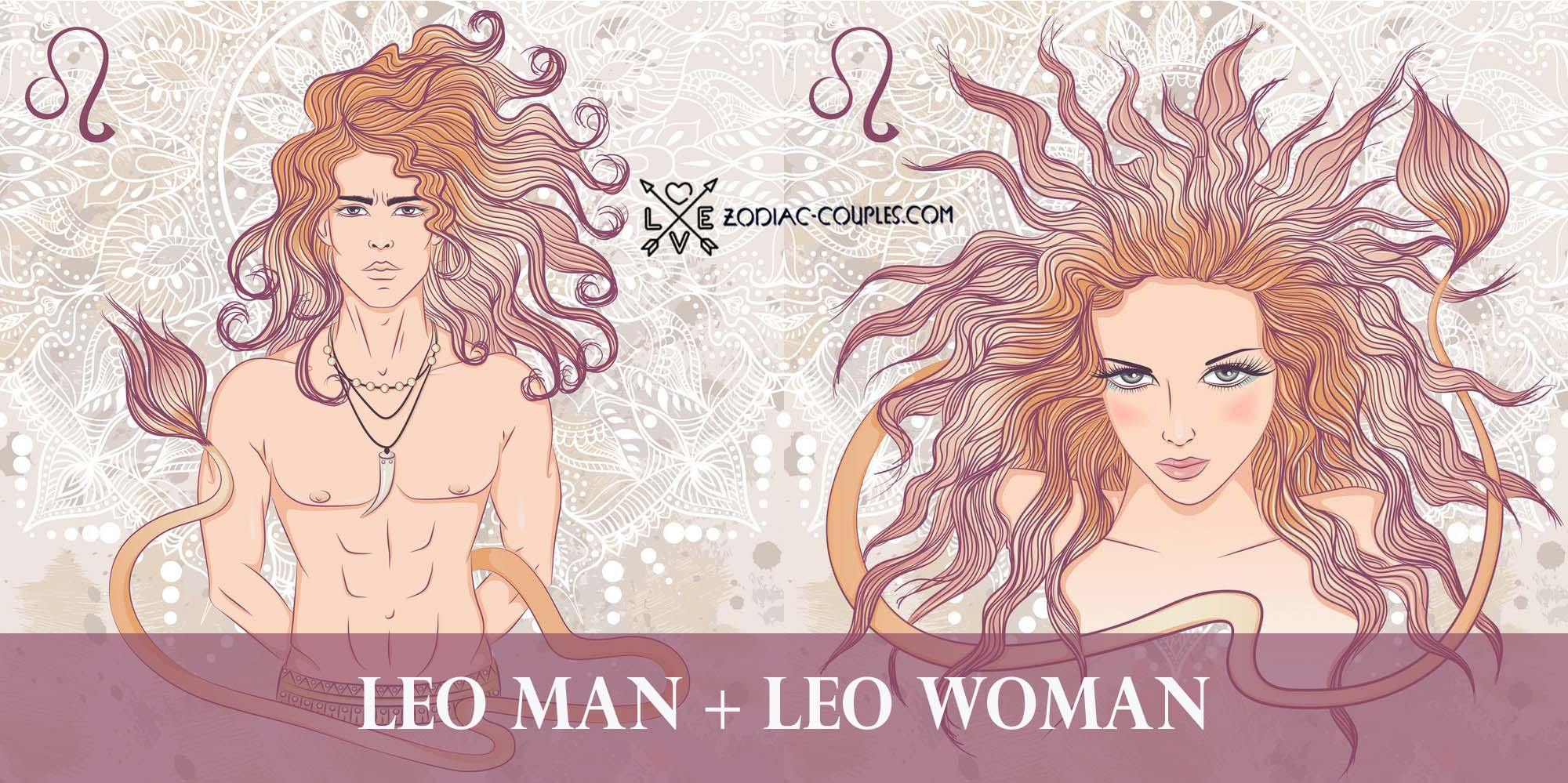 Couples man gemini famous leo woman Leo man