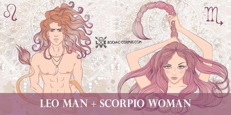 leo man scorpio woman