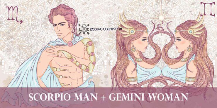 scorpio man gemini woman