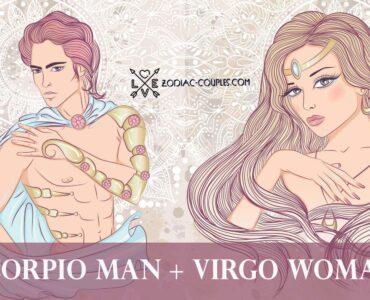 scorpio man virgo woman