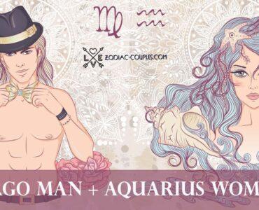 virgo man aquarius woman