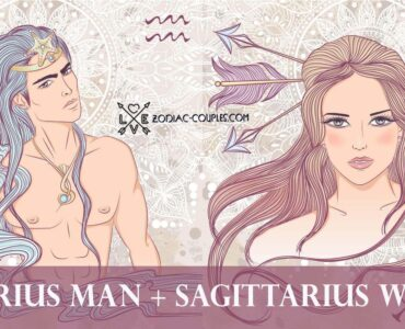 aquarius man sagittarius woman