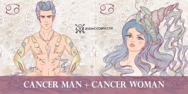 cancer man cancer woman