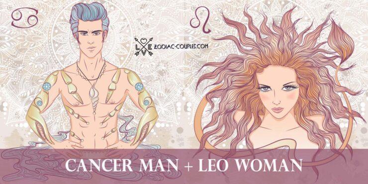 cancer man leo woman
