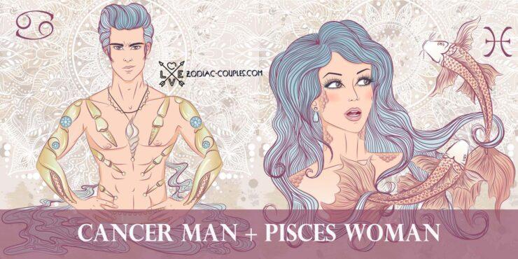 cancer man pisces woman