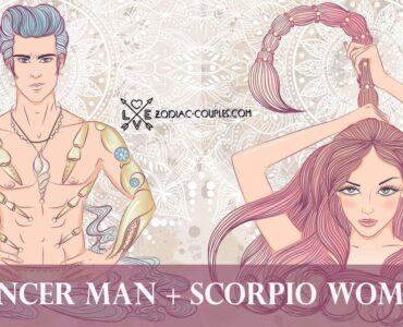 cancer man scorpio woman