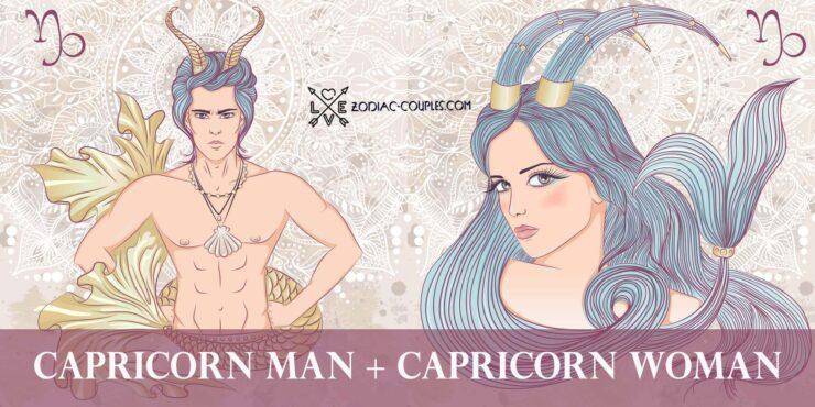 capricorn man capricorn woman