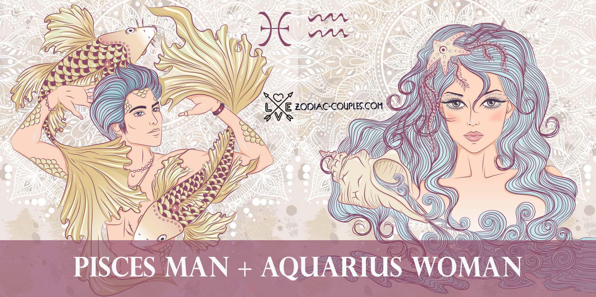 Man scorpio couples aquarius woman Aquarius Man