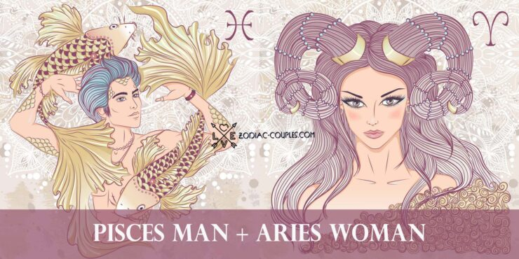 pisces man aries woman